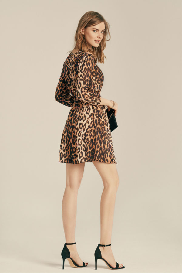 "Chiffon ""Leopard"" dress"