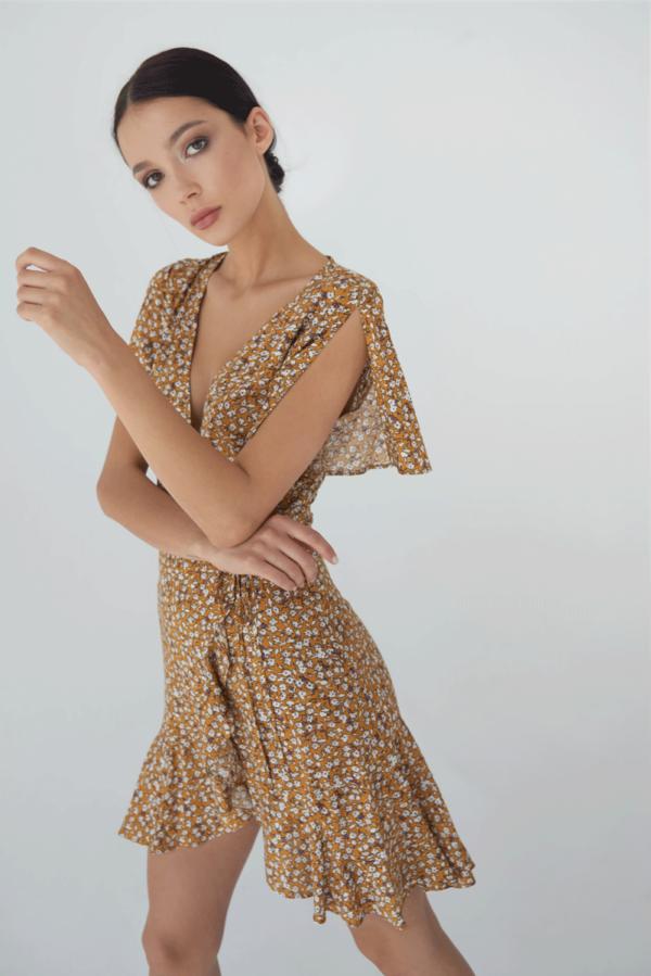 Sukienka z zapachem